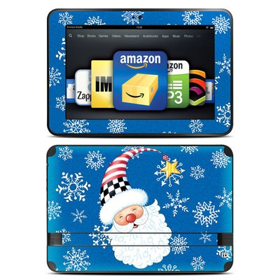 Amazon Kindle Fire HD 8.9 Skin - Santa Snowflake