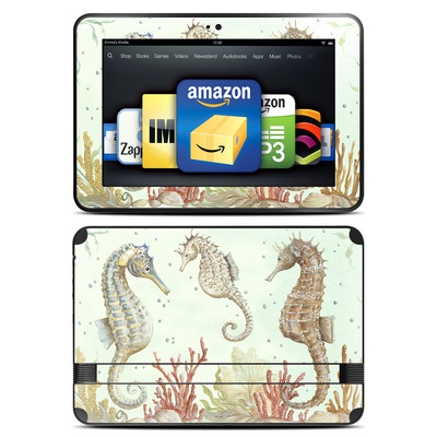 Amazon Kindle Fire HD 8.9 Skin - Seahorse Trio