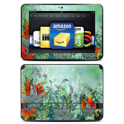 Amazon Kindle Fire HD 8.9 Skin - Sea Flora