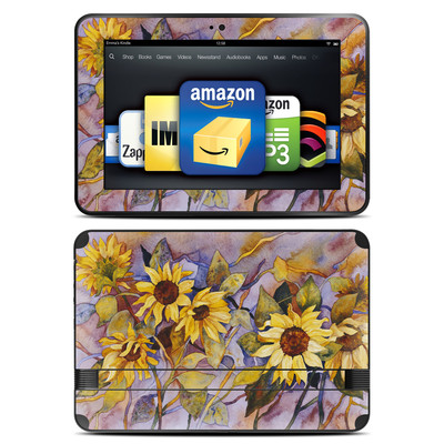 Amazon Kindle Fire HD 8.9 Skin - Sunflower