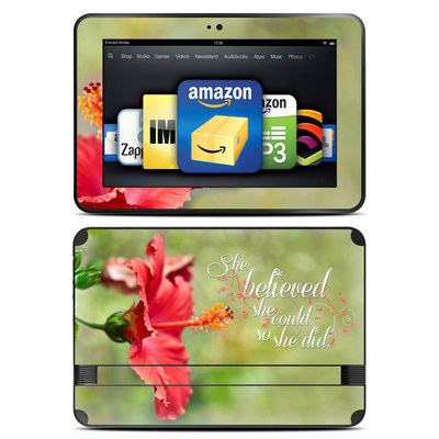 Amazon Kindle Fire HD 8.9 Skin - She Believed