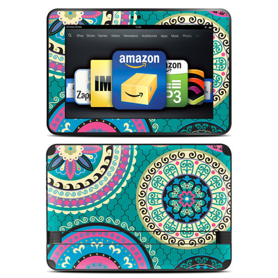 Amazon Kindle Fire HD 8.9 Skin - Silk Road