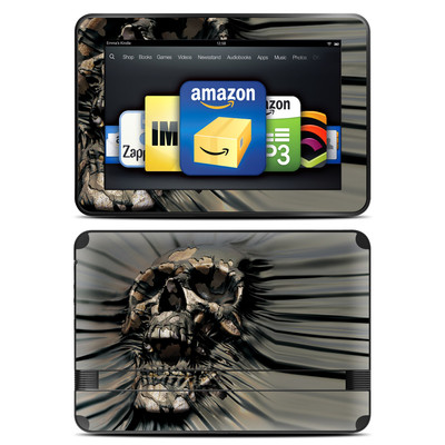 Amazon Kindle Fire HD 8.9 Skin - Skull Wrap