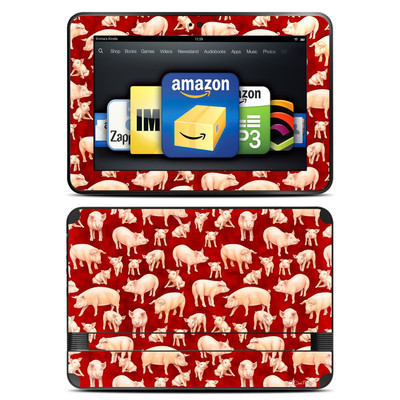 Amazon Kindle Fire HD 8.9 Skin - Some Pig
