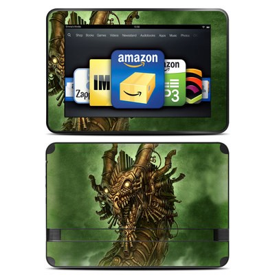 Amazon Kindle Fire HD 8.9 Skin - Steampunk Dragon