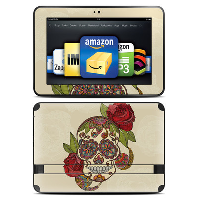 Amazon Kindle Fire HD 8.9 Skin - Sugar Skull