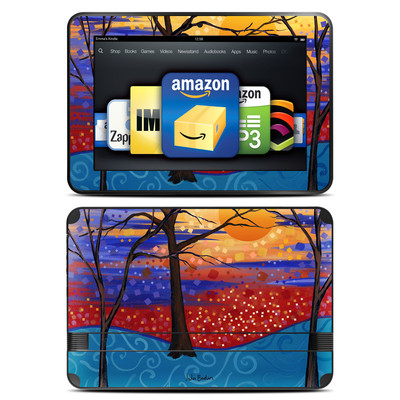 Amazon Kindle Fire HD 8.9 Skin - Sunset Moon