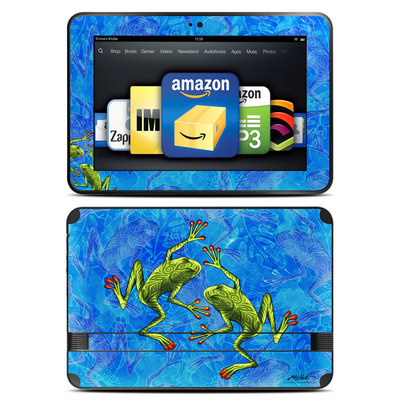 Amazon Kindle Fire HD 8.9 Skin - Tiger Frogs
