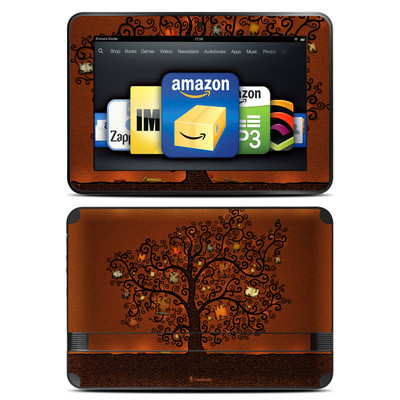 Amazon Kindle Fire HD 8.9 Skin - Tree Of Books