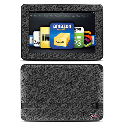 Amazon Kindle Fire HD 8.9 Skin - Tracked