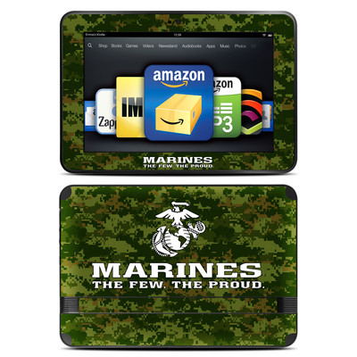 Amazon Kindle Fire HD 8.9 Skin - USMC Camo
