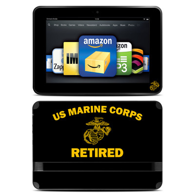 Amazon Kindle Fire HD 8.9 Skin - USMC Retired