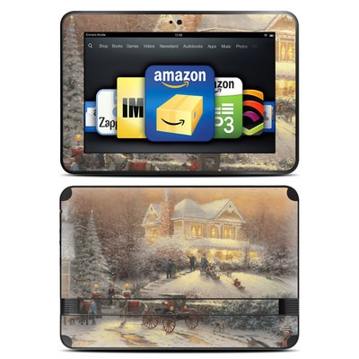 Amazon Kindle Fire HD 8.9 Skin - Victorian Christmas