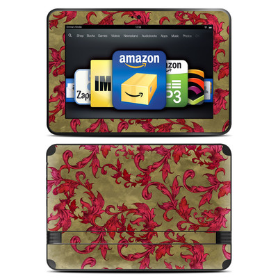 Amazon Kindle Fire HD 8.9 Skin - Vintage Scarlet