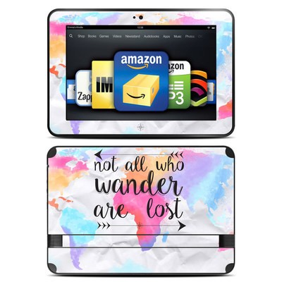 Amazon Kindle Fire HD 8.9 Skin - Wander