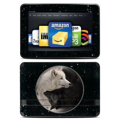 Amazon Kindle Fire HD 8.9 Skin - Wolf Zen