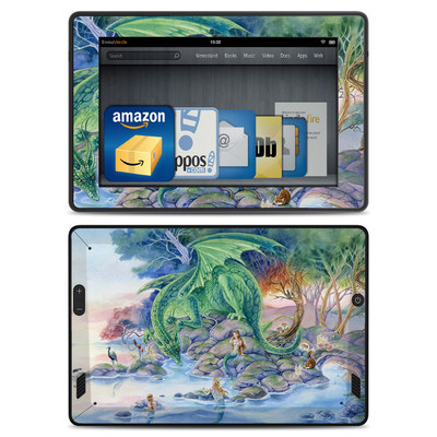 Amazon Kindle Fire HD Skin - Of Air And Sea