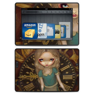 Amazon Kindle Fire HD Skin - Alice Clockwork