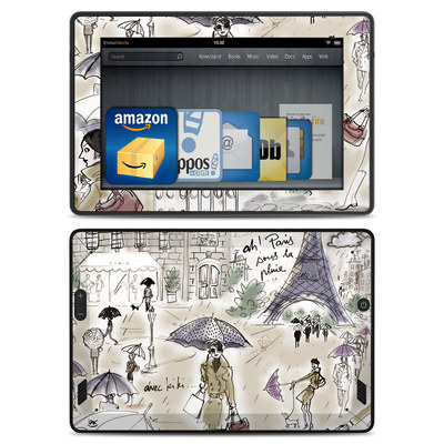 Amazon Kindle Fire HD Skin - Ah Paris