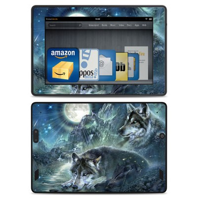 Amazon Kindle Fire HD Skin - Bark At The Moon