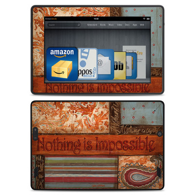 Amazon Kindle Fire HD Skin - Be Inspired