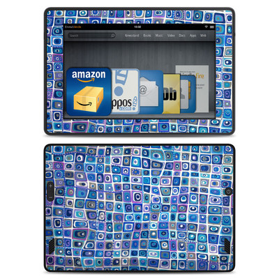 Amazon Kindle Fire HD Skin - Blue Monday