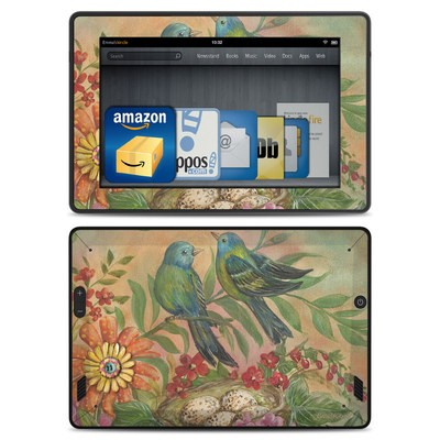 Amazon Kindle Fire HD Skin - Splendid Botanical