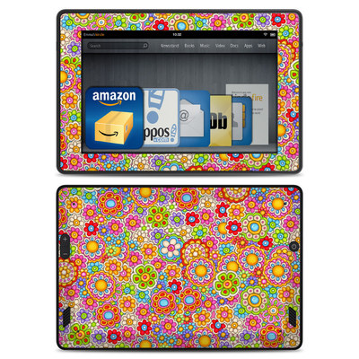 Amazon Kindle Fire HD Skin - Bright Ditzy
