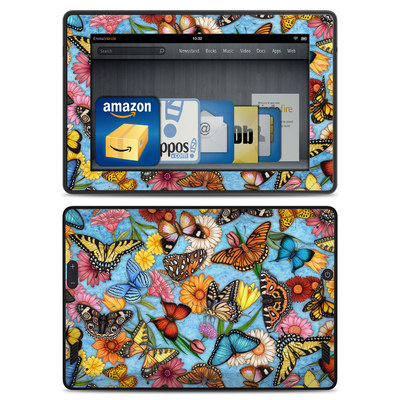 Amazon Kindle Fire HD Skin - Butterfly Land