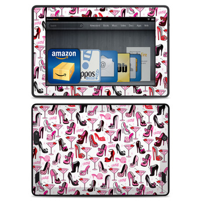 Amazon Kindle Fire HD Skin - Burly Q Shoes