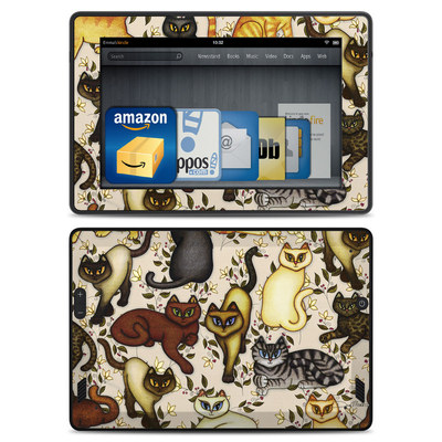 Amazon Kindle Fire HD Skin - Cats