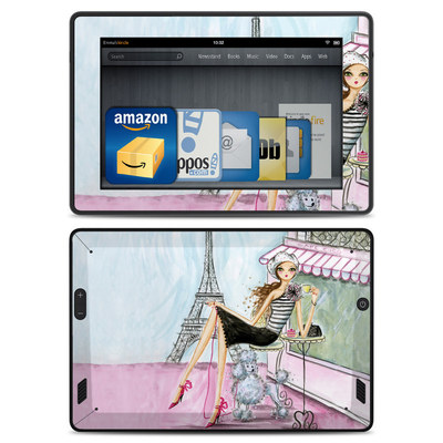 Amazon Kindle Fire HD Skin - Cafe Paris