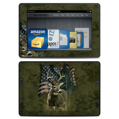 Amazon Kindle Fire HD Skin - Deer Flag