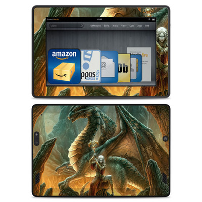 Amazon Kindle Fire HD Skin - Dragon Mage