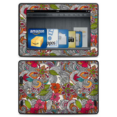 Amazon Kindle Fire HD Skin - Doodles Color