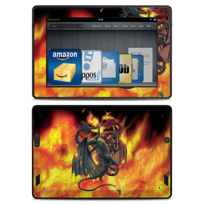 Amazon Kindle Fire HD Skin - Dragon Wars