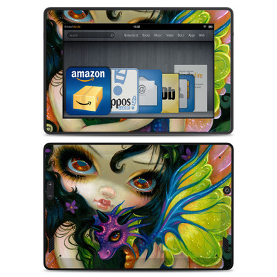 Amazon Kindle Fire HD Skin - Dragonling Child