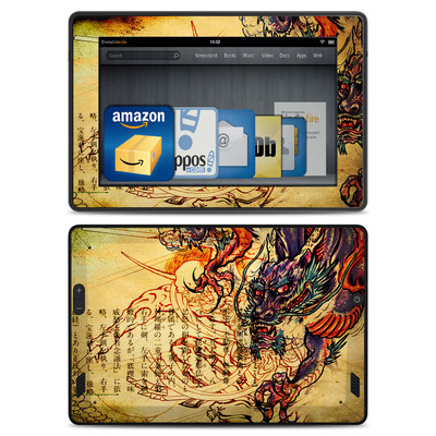 Amazon Kindle Fire HD Skin - Dragon Legend