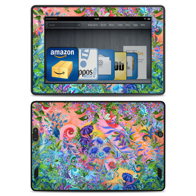 Amazon Kindle Fire HD Skin - Fantasy Garden