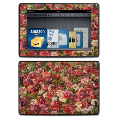 Amazon Kindle Fire HD Skin - Fleurs Sauvages