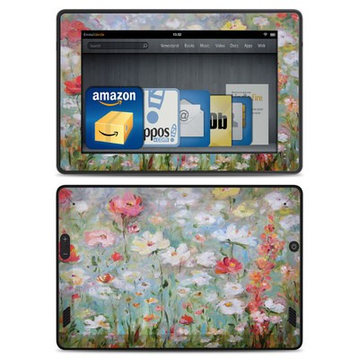 Amazon Kindle Fire HD Skin - Flower Blooms