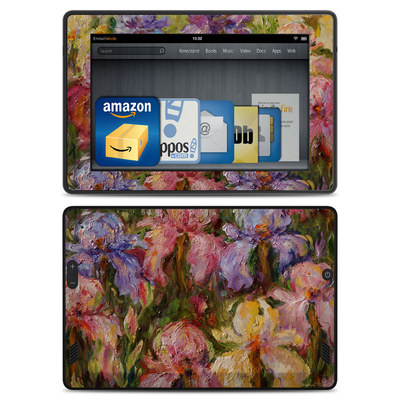 Amazon Kindle Fire HD Skin - Field Of Irises