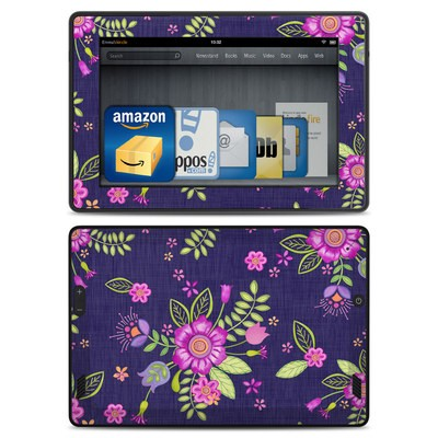 Amazon Kindle Fire HD Skin - Folk Floral
