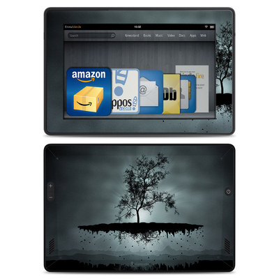Amazon Kindle Fire HD Skin - Flying Tree Black