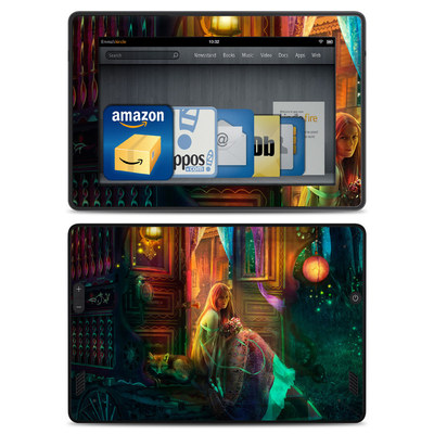 Amazon Kindle Fire HD Skin - Gypsy Firefly