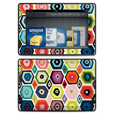 Amazon Kindle Fire HD Skin - Hex Diamond