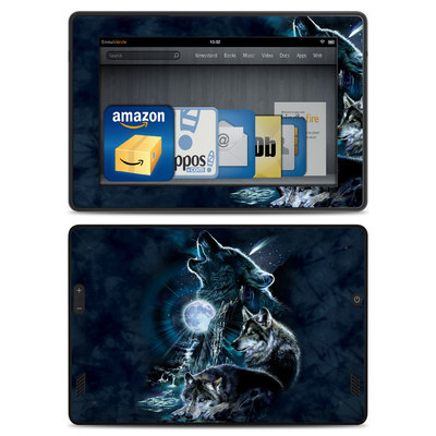 Amazon Kindle Fire HD Skin - Howling