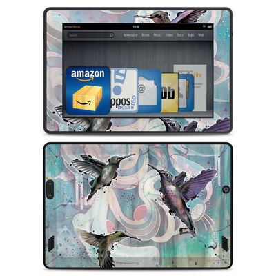 Amazon Kindle Fire HD Skin - Hummingbirds