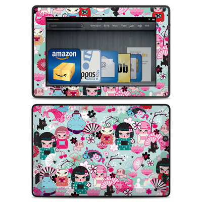 Amazon Kindle Fire HD Skin - Kimono Cuties