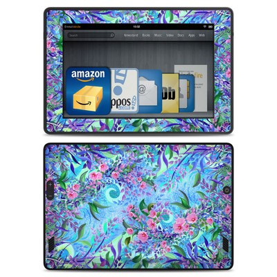 Amazon Kindle Fire HD Skin - Lavender Flowers